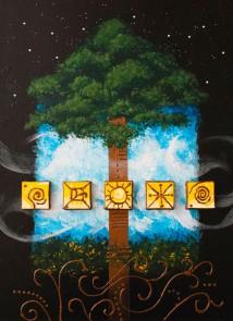 Heaven & Earth II Painting
